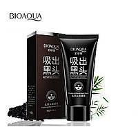 Черная маска-пленка Bioaqua Black Mask, 60 грамм, фото 1