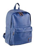 Рюкзак подростковый Yes ST-15 Blue 41.5*30*12.5 см синий (553508)