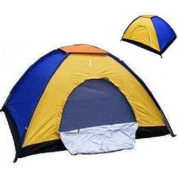 Палатка туристическая 2.08 х 2.08 метра, 4-х местная