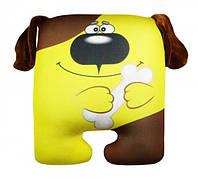 Антистресова іграшка Собака квадрат