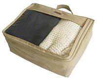 Средняя дорожная сумка для вещей ORGANIZE P002 бежевый
