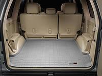 Коврик резиновый в багажник, серый. (WeatherTech) - Land Cruiser Prado - Toyota - 2003