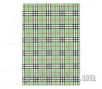 Блокнот на пружине сверху А4 Buromax  цвет зеленый