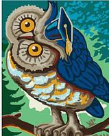 Картина по номерам Сова Гогена магистр, 40x50 см., Brushme