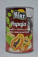 Папайя в легком сиропе Kier 425 г, фото 1