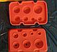 Полусфера силиконовая форма для шоколада на планшете из 7 ячеек, фото 2