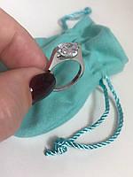 Кольцо от Тиффани камень Сердце
