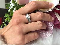 Кольцо от Тиффани квадратный камень