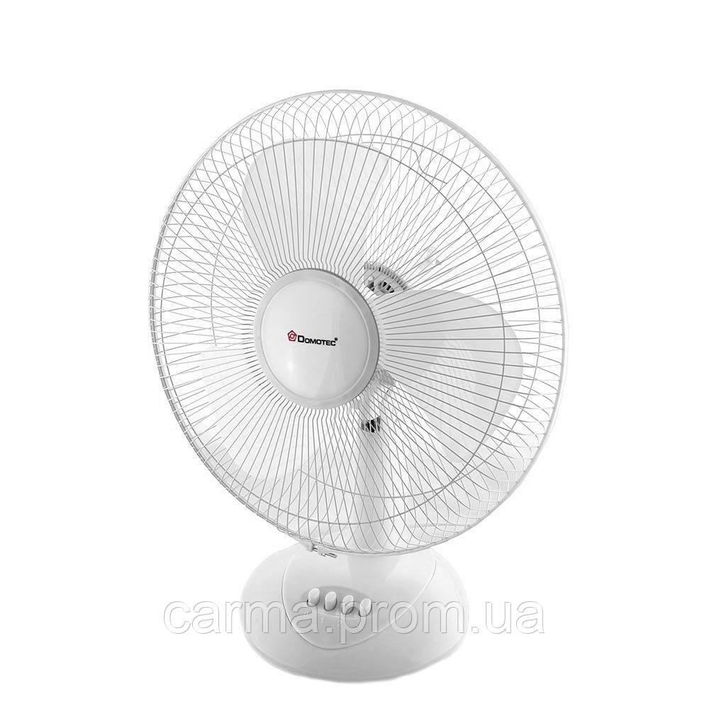 Вентилятор настольный DOMOTEC MS-1626 3 режима Белый
