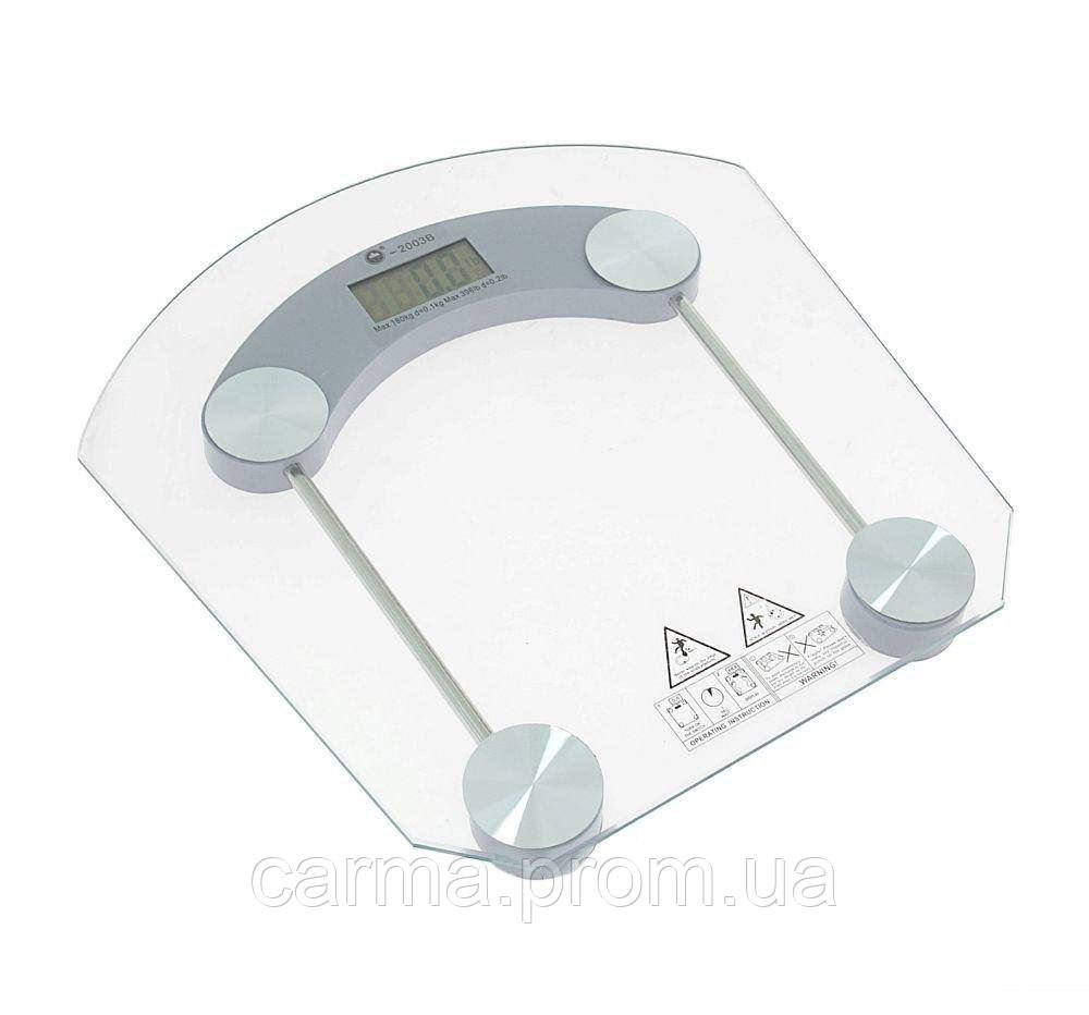 Весы напольные DiT Smart DT2003B до 150 кг, прозрачные