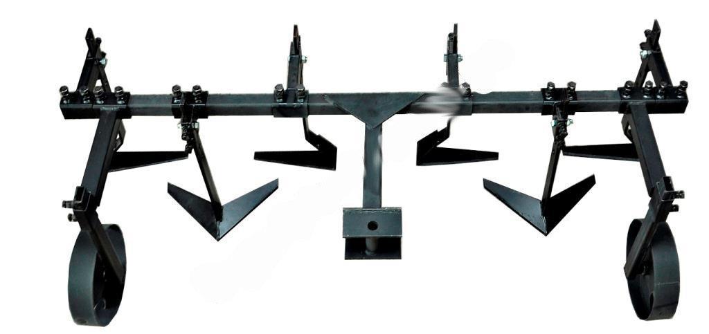 Плоскорез двухрядный с опорными колесами КУ8