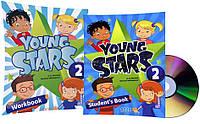 Английский язык / Young Stars / Student's+Workbook+CD. Учебник+Тетрадь (комплект), 2 / MM Publications