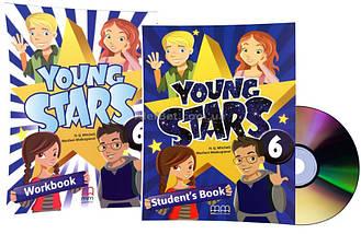 Английский язык / Young Stars / Student's+Workbook+CD. Учебник+Тетрадь (комплект), 6 / MM Publications