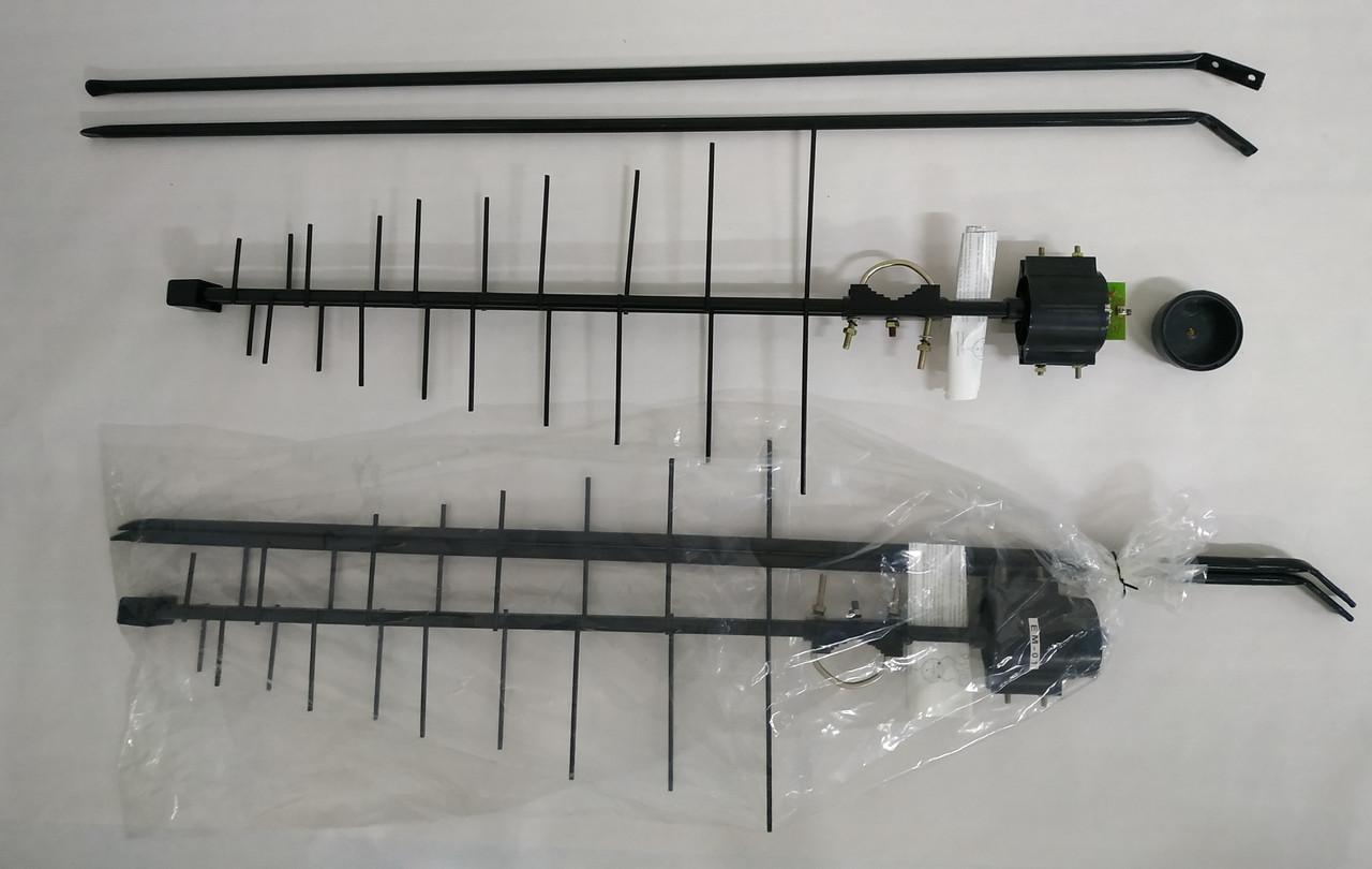 Т2  Уличная Антенна всеволновая дециметровая (метал) Ворона пассивная EM-01 ( EM01 )
