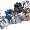 Женский городской рюкзак с клапаном геометрический Бао Бао Алмаз Бронзовый, Bao Bao Issey Miyake 3012, фото 4