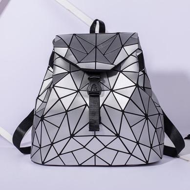 Женский рюкзак Бао Бао Алмаз Серый
