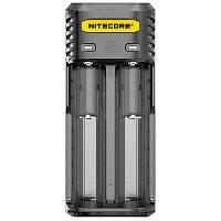 Зарядное устройство Nitecore Q2 двухканальное, черное