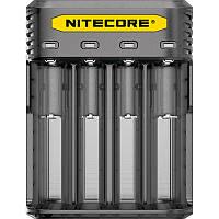 Зарядное устройство Nitecore Q4 четырехканальное, черное