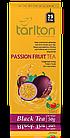 Чай черный пакетированный Тарлтон Passion Fruit Black Tea со вкусом маракуйи 25 пак х 2 г, фото 2
