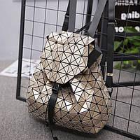 Рюкзак женский в стиле Бао - Бао Золотой