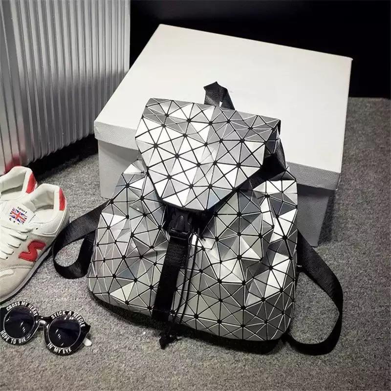 Рюкзак женский в стиле Бао - Бао Серый