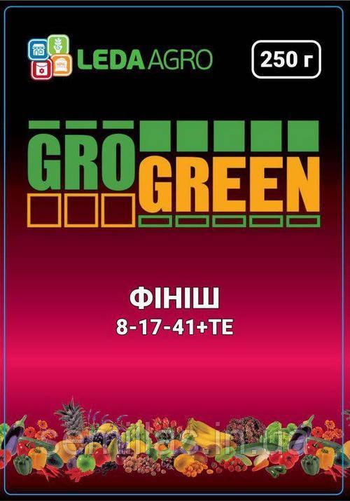 """Удобрение Грогрин Финиш (8-17-41+TE), 250 гр., ТМ """"Леда Агро"""""""