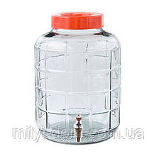 Бутыль для вина с пластиковым краном, 24.5 л