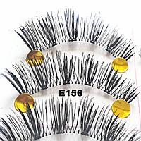 Ресницы с необычным плетением по 10 пар (10 видов) 14, На леске, Крестовое