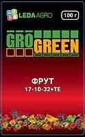 "Удобрение Грогрин Фрут (17-10-32+TE), 100 гр., ТМ ""Леда Агро"""