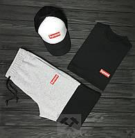 Мужской летний костюм Supreme (Суприм) комплект 3 в 1