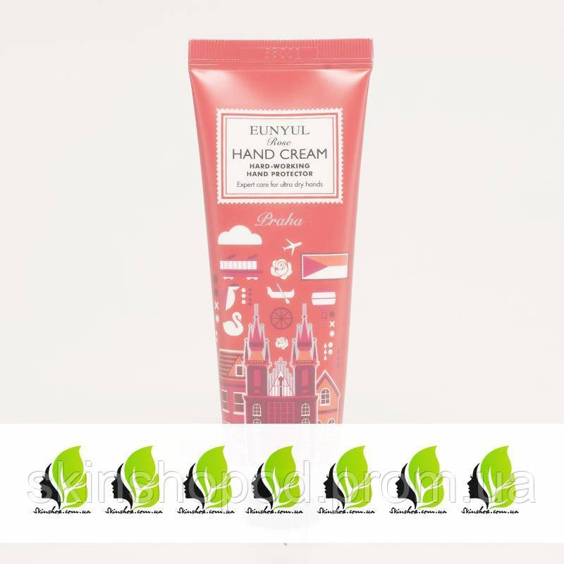 Крем для рук с розой EUNYUL Rose Hand Cream - 50 мл