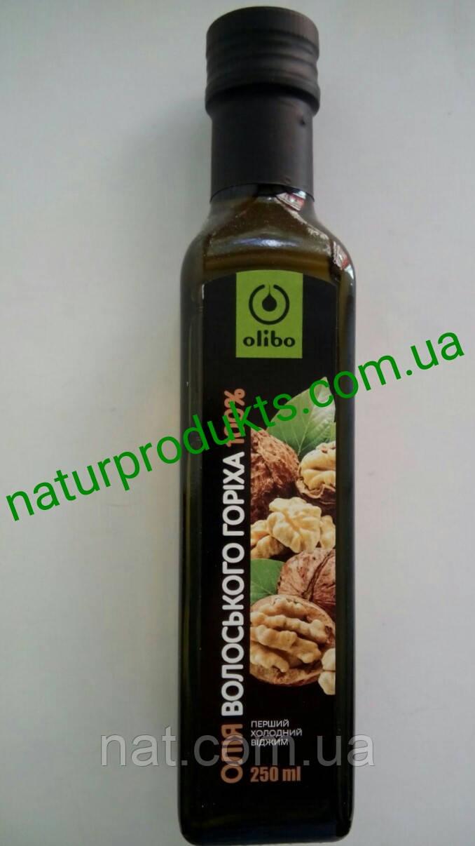 Масло грецкого ореха 100% сыродавленное ТМ Olibo (Eco Oliva), 250  мл