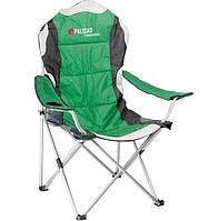 Кресло складное с подлокотниками и подстаканником Palisad Camping