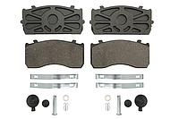 Колодки тормозные SORL HM4611AK002-SL Mercedes Atego , MAN 29115VWA с монтажным комплектом Man TGL, Mercedes A