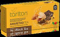 Чай черный пакетированный Тарлтон Amaretho Black Tea со вкусом ликера 25 пак х 2 г