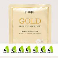 Маска гидрогелевая для лица с золотом и экстрактами Petitfee Gold Hydrogel Mask Pack - 32 г