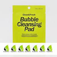 Подушечка для демакияжа в индивидуальной упаковке EUNYUL Clean & Fresh Bubble Cleansing Pad - 1 шт.