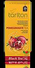 Чай черный пакетированный Тарлтон Pomegranate Black Tea со вкусом граната 25 пак х 2 г, фото 2