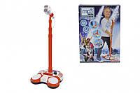 Музыкальный набор Микрофон на стойке с разъемом для МР3-плеера и свет эффектами My Music World 683 7816