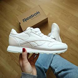 Кроссовки Оригинал Reebok Leather White
