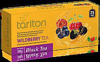 Чай черный пакетированный Тарлтон Wildberry Black Tea со вкусом черники, ежевики, малины, вишни 25 пак х 2 г