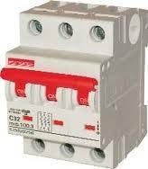 Автоматический  выключатель e.mcb.stand.45.3.C10 3р 10А C 4.5 кА, фото 1