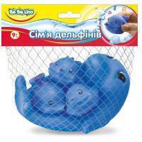 Игрушка для ванной BeBeLino Семья дельфинов (57092)