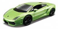 Автомодель - LAMBORGHINI GALLARDO LP560-4 (2008), (ассорти белый,  светло-зеленый металлик, 1:32) от Bburago - под заказ - ОПТ