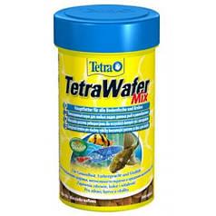 TetraWafer Mix - основной корм для донных рыб, 1 л