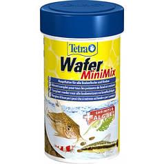 TetraWafer Mini Mix – смесь корма для донных рыб, 100 мл