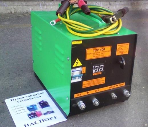 Аїда Тор 400П: пуско-зарядний пристрій для авто акумуляторів 32-250 Ач
