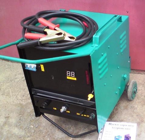 Аїда Тор 600П: пуско-зарядний пристрій для авто акумуляторів 32-250 Ач