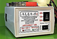Аида 8s (super) гелевый/кислотный: зарядное устройство для авто аккумуляторов 4-160 Ач