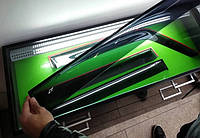 Ветровики для окон на Chevrolet Lanos 05-(Cobra Tuning)
